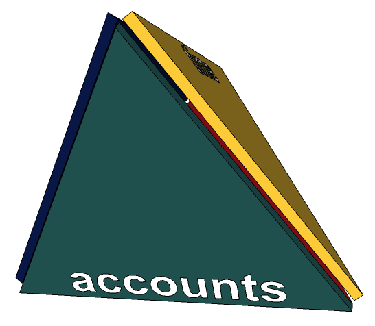 time tracking to accounts